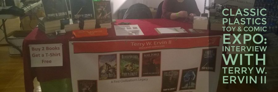 Classic Plastics Toy & Comic Expo: Interview with Terry W. Ervin II