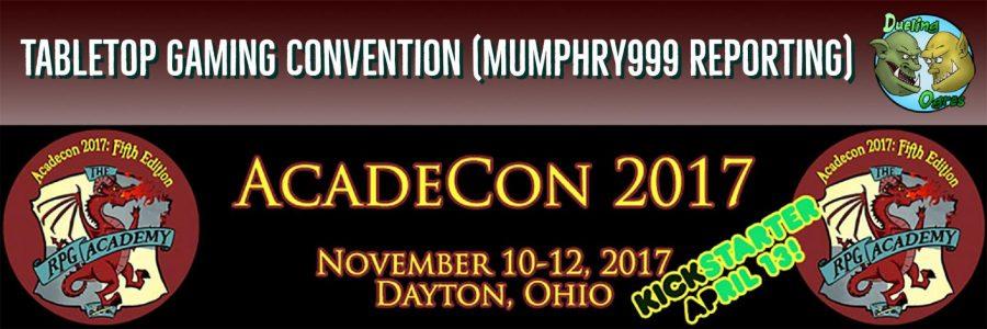 AcadeCon 2017 – Tabletop Gaming Convention
